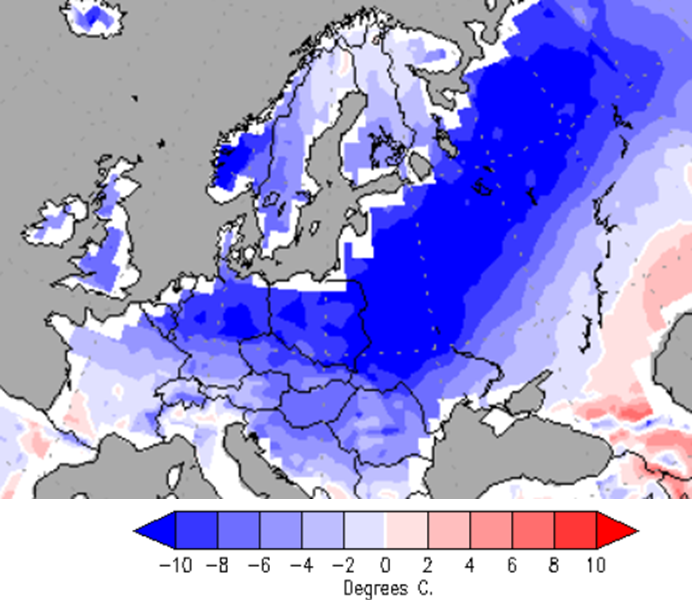 Snow Map Europe.Berlin Freezes In 100 Year Winter Record Snow Blankets Germany