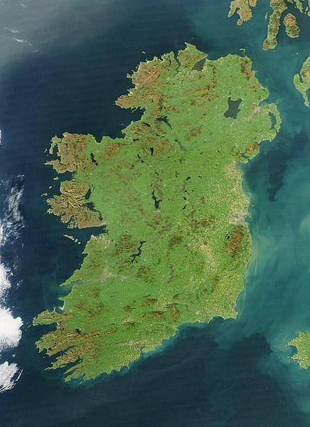 Ireland_NASA Photo