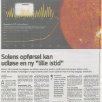 "Major Danish Daily Warns: ""Globe May Be On Path To Little Ice Age...Much Colder Winters...Dramatic Consequences""!"