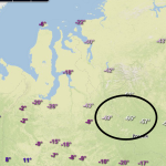 Minnesota Is Balmy...Central Russia Shows Temperature Of -65°F Without Wind Chill!