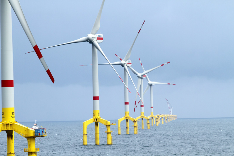 Bard 1 offshore windpark