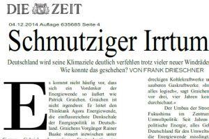 Die Zeit 4 Dec 2014
