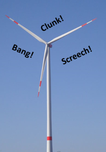 Wind Turbine kaputt