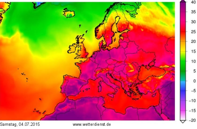 Europe temp 07 04 2015