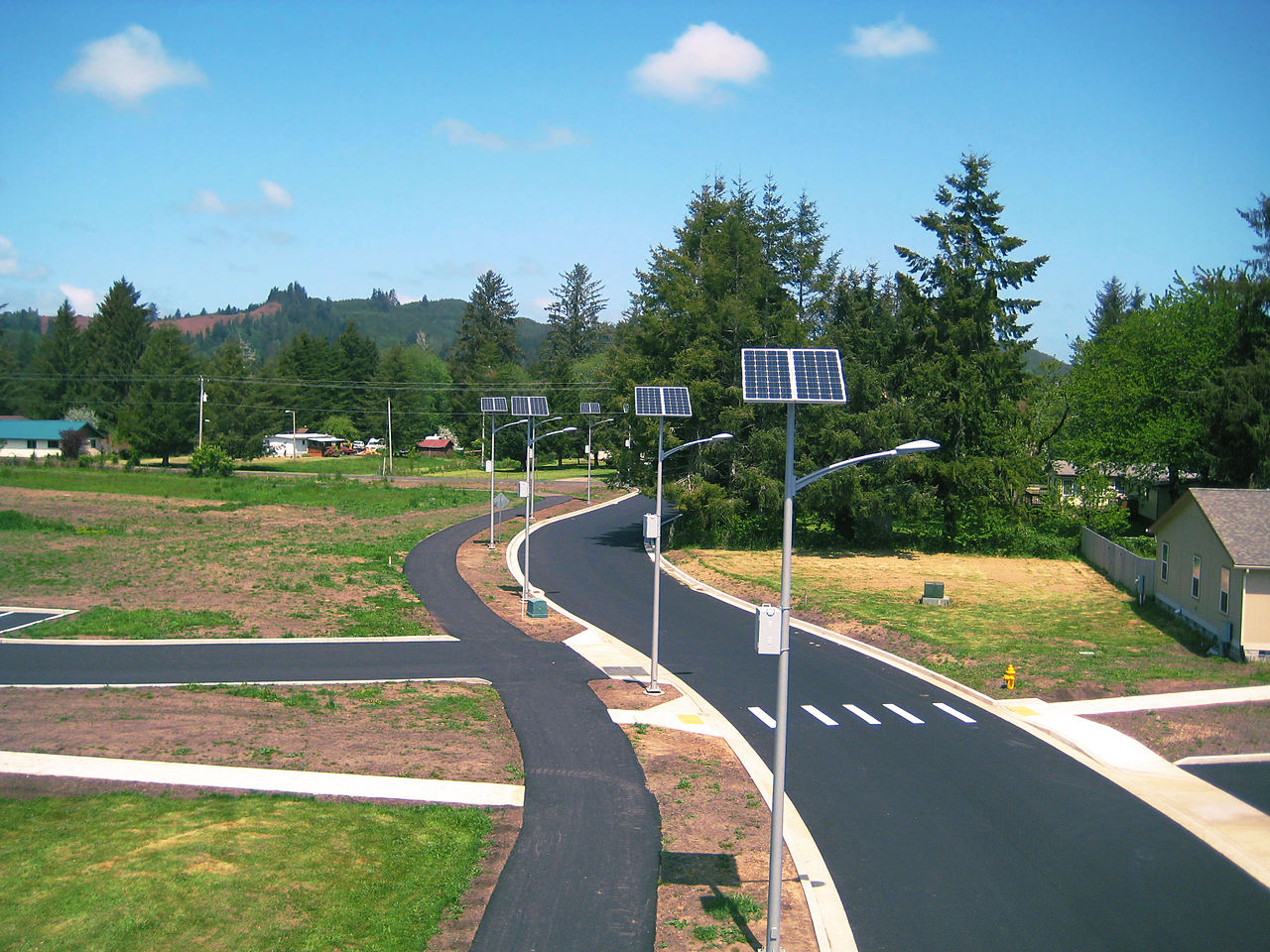 German Town Of Gescher Installs 5 Solar Street Lamps That Dont Work Powered Lights Wiring Diagram Automatic Light Circuit At Night For 28000 Euros