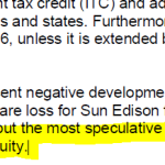 "Market Analyst Value Line Issues Strong Warnings Against Major Solar Companies ...Only For ""Most Risk-Tolerant Of Speculators""!"
