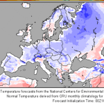 Winter To Drag On Across Central Europe, ...March 2016 In Germany So Far 1.5°C Cooler Than Normal