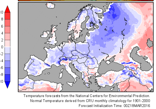 Winter to drag on across central europe march 2016 in germany so winter to drag on across central europe march 2016 in germany so far 15c cooler than normal publicscrutiny Images
