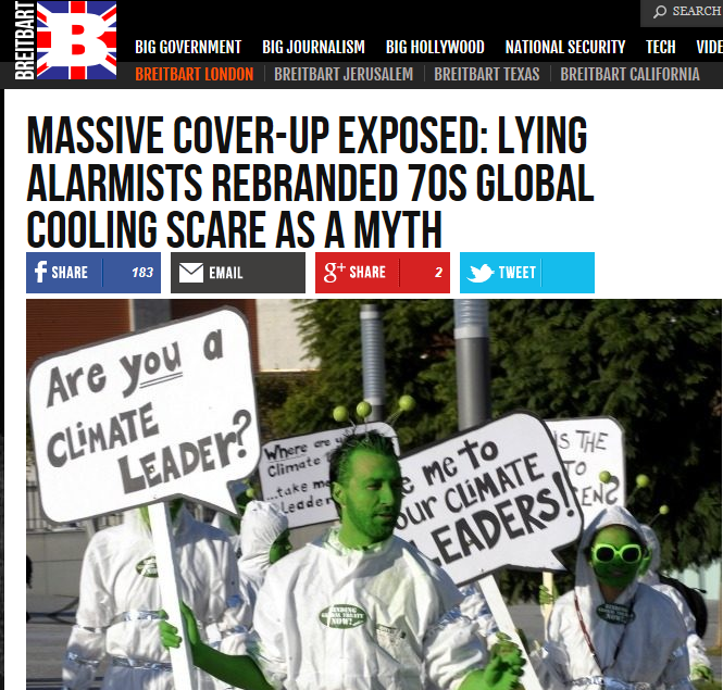 Breitbart London Full Extent Of Skullduggery By Cabal Lying Climate Alarmists Has Been Uncovered