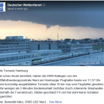 "How A Wind Gust In Hamburg Morphed Into Major ""Tornado"" In The Media...Made International Headlines"