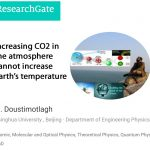Ph.D. Physicist Uses Empirical Data To Assert CO2 Greenhouse Theory A 'Phantasm' To Be 'Neglected'