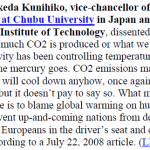 "Prominent Japanese Scientist Reiterates: ""Sun Is Main Climate Driver""...Manmade ""Global Warming A Hoax""!"