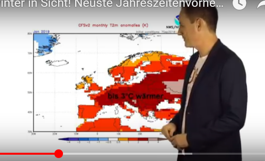 Western Europe 2018/19 Winter Projected To Be Cooler Than ...
