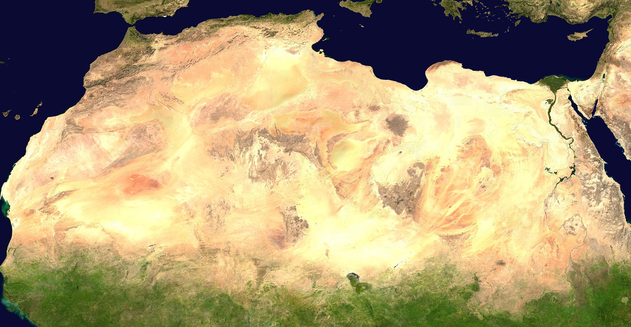 700,000 Square Kilometers Of Added Green Vegetation, Climate Change Shrinks Sahara Desert By Whopping 8%!