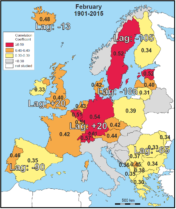 Precipitation Map Europe.New Findings From German Scientists Show Changes In Precipitation