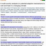 New Study: Australians Were 600% More Likely To Die From Cold Than Heat During 2000-2009
