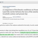 New Study Reveals The Arctic Region Was 4.6°C Warmer Than 'Present Day' During The 1930s