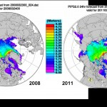 Arctic Ice Thickness Makes A Huge Gain - Global Warming Freezes More Ice!