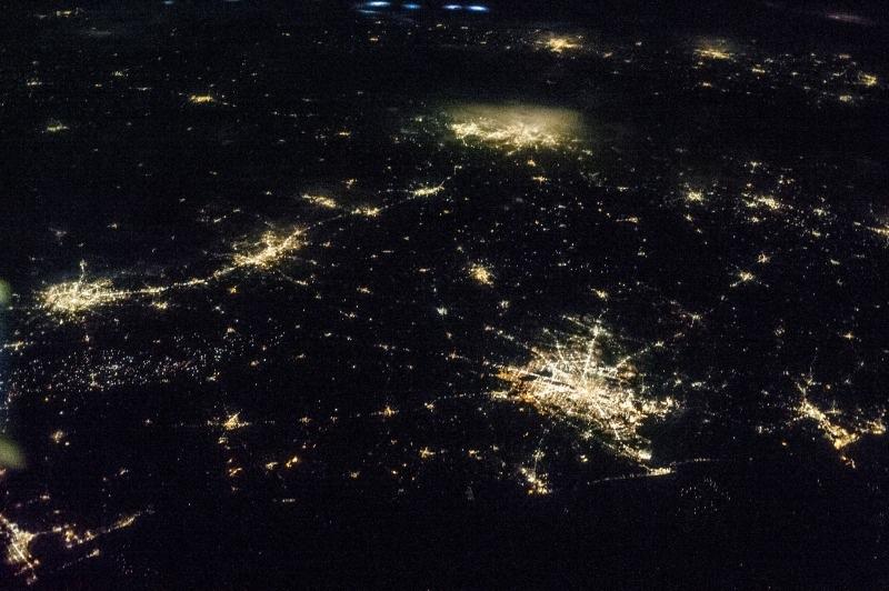 Texas at night