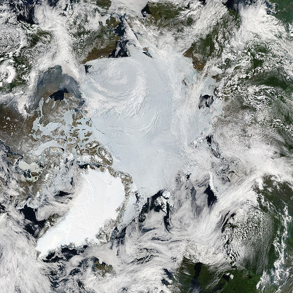 Arctic Nasa photo