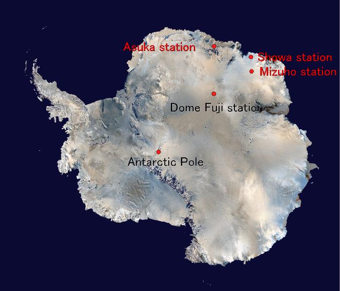 Antarctica Dome Fuji