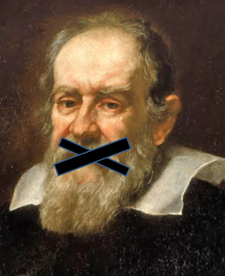 Galileo silenced