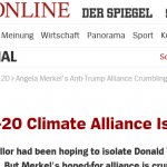 "Global Climate Policy Meets Its D-Day?...SPIEGEL: ""CLIMATE ALLIANCE IS CRUMBLING""!"