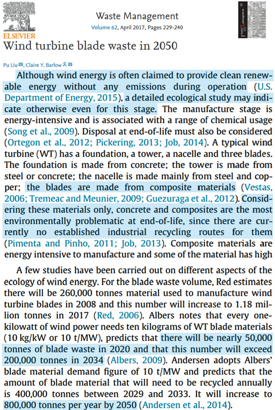 2 New Papers Expose The Environmental Nightmare Of Wind