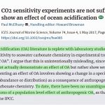 3 More New Papers Expose The Folly Of 'Ocean Acidification' Claims