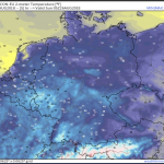 Near Record Lows Set Across Central Europe...Snow Blankets Alps Below 1000 Meters...Surface Frost In Germany!