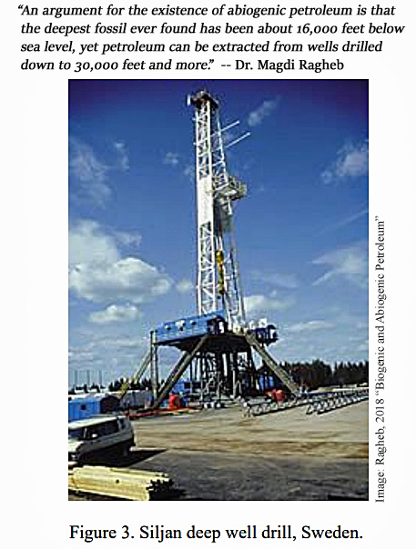 A 'Growing Number Of Scientists' Indicate Earth's Oil & Gas Supply