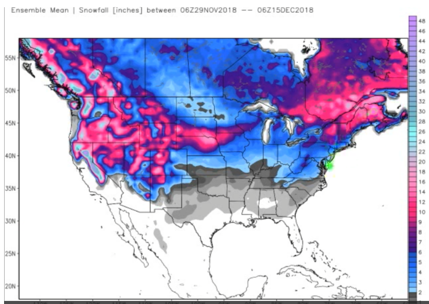 Snow Forecast To Reach Florida, Mexico… This Decade\'s ...