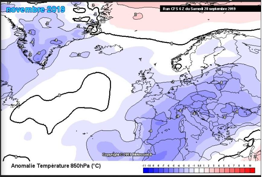 Noaa Winter Forecast 2020 2021.Noa Solar Activity Suggest Early Winter For Europe Outlook