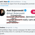 Mann, Rahmstorf Struggle To Defend: Flawed Hockey Stick Chart Under Fire (Again) In Germany
