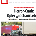 "Protest Stunt By Nine German Tree-Hugger ""Idiots"" Lead To Huge Highway Traffic Jam, One ""Horror Crash"""