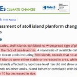 Alarmism Dies In The Maldives: 97% Of 186 Island Coasts Have Grown (59%) Or Not Changed (38%) Since 2005