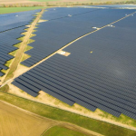 As Snow Blankets Europe, EnBW Power Company Builds Giant Solar Panel Farm In Germany