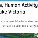 Climate Change Blamed For Lake Victoria Record High Levels (After Being Blamed For Low Levels)!