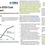 What's The Point? In 2020 China Built The Equivalent Of More Than One New Large Coal Plant Per Week