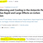 Body Of Evidence: All Of Antarctica Is Cooling... Peninsula Cooling Since Long Before Greta Was Born